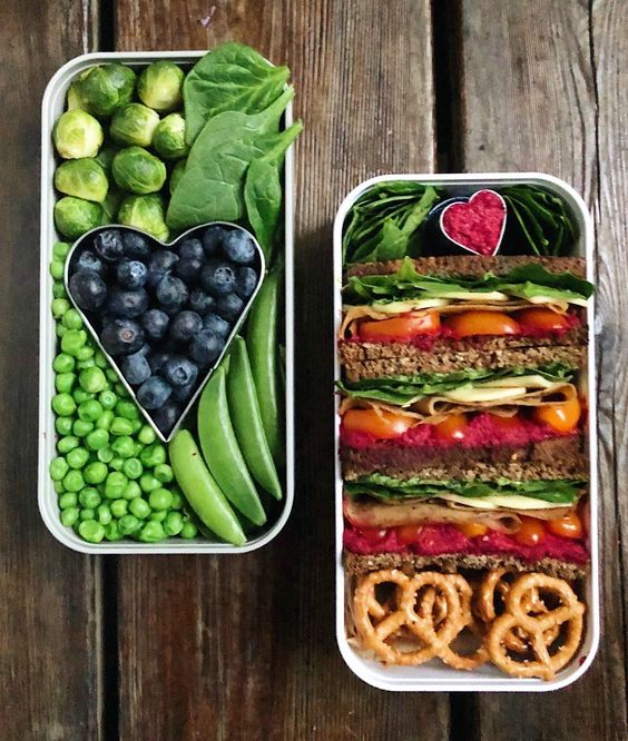 Vegan Sandwich with Green Veggies | The Green Loot #vegan #bento