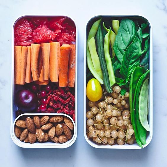 Vegan Rainbow Snack Box | The Green Loot #vegan #bento