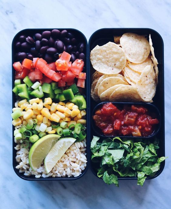 Vegan Burrito Bento Box | The Green Loot #vegan #bento