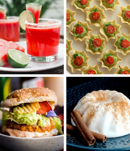 These Vegan Mexican Party Recipes are perfect for Cinco de Mayo or any Summer Party menu! | The Green Loot #vegan #veganrecipes #cincodemayo