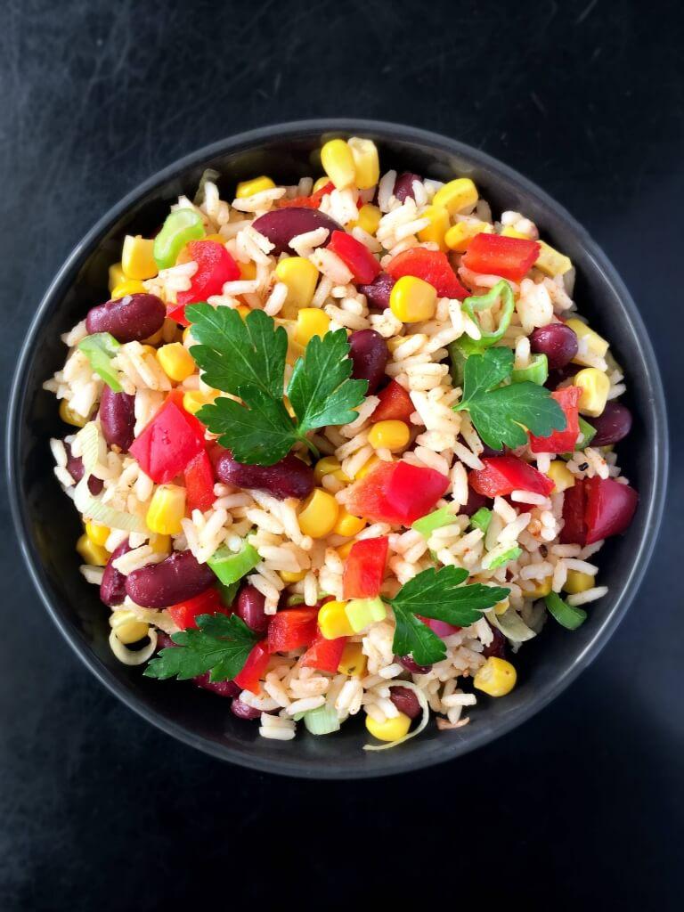 Vegan Mexican Rice Salad