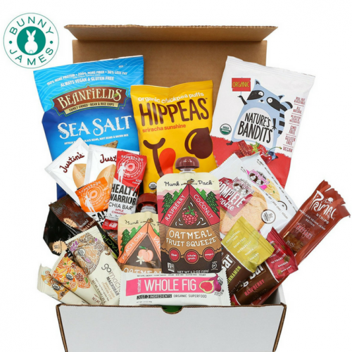 Healthy Vegan Snack Box, Best Quality - Buy at The Vegan Shop!