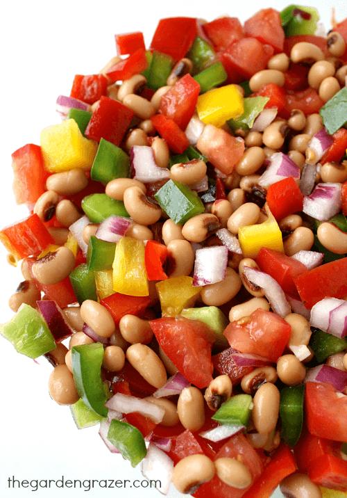 Vegan Black-Eyed Pea Salad