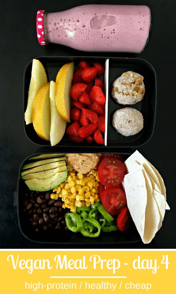 Vegan Mexican Salad, Apple-Oat Protein Bites | thegreenloot.com #vegan #mealprep