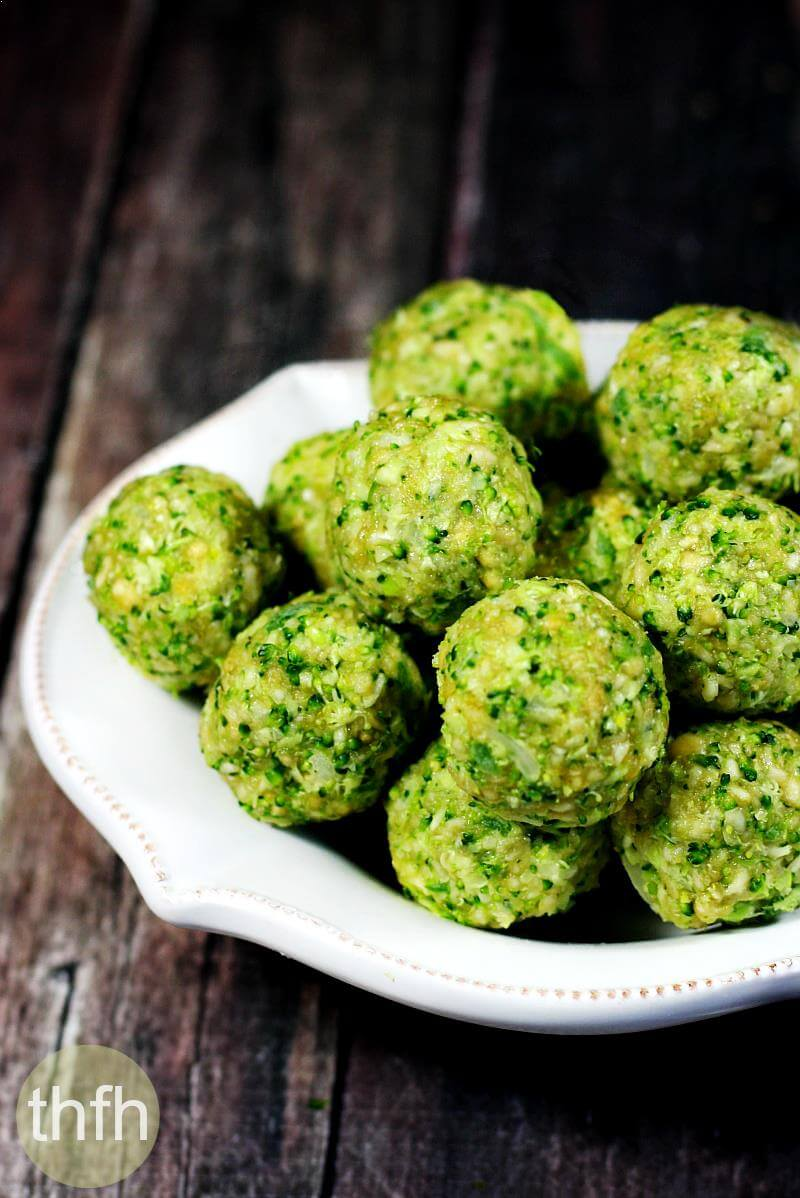 Raw Vegan Broccoli Balls