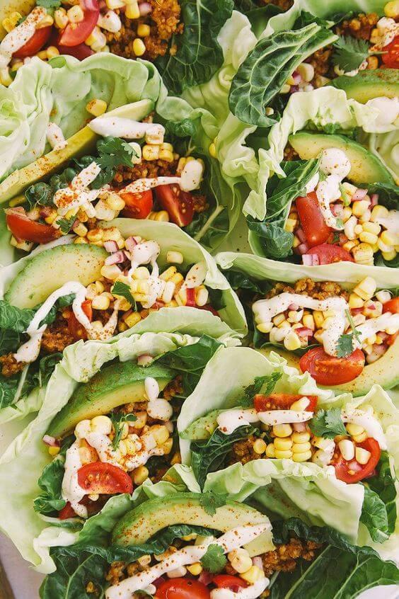 Raw Vegan Lettuce Tacos