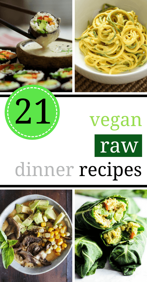 21 satisfying raw vegan recipes for dinner the green loot these super satisfying and filling raw vegan recipes are perfect for an easy dinner if forumfinder Choice Image