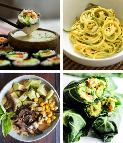 21 Satisfying Raw Vegan Recipes For Dinner The Green Loot