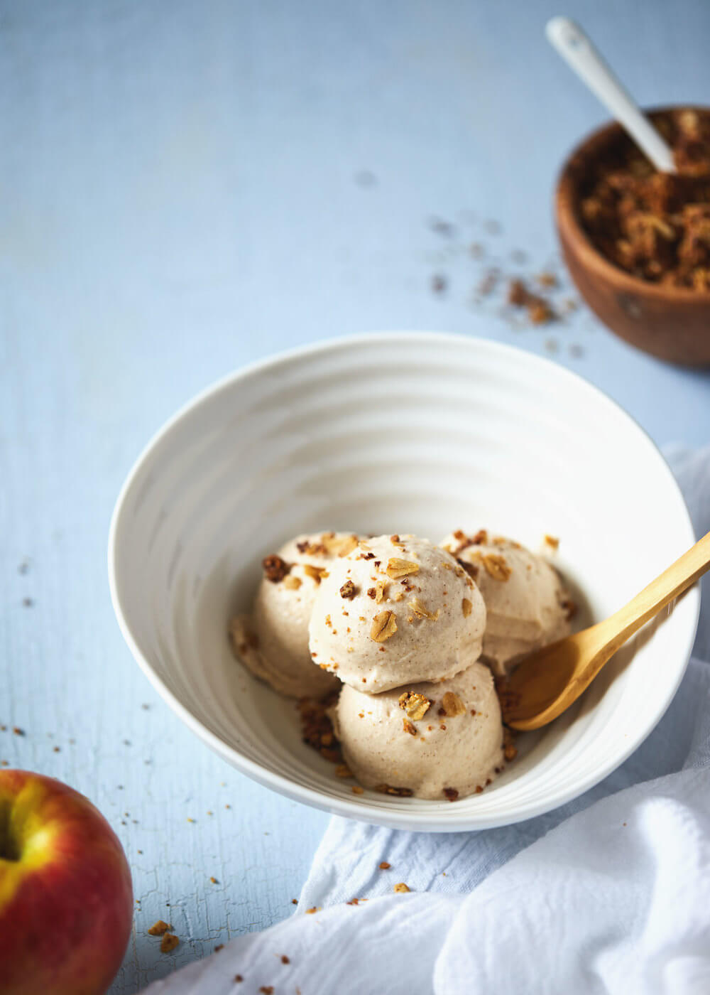 Vegan Apple Pie Ice Cream