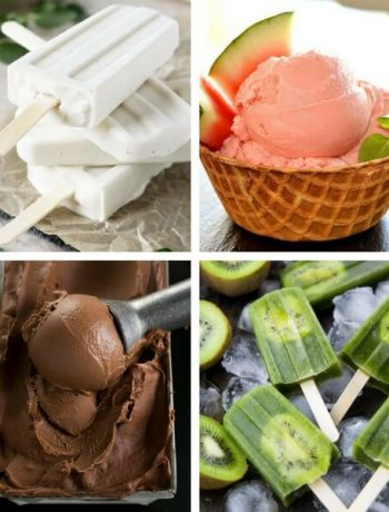 These easy Vegan Ice Cream Recipes are dairy-free and healthy, so you can cool down on the hottest Summer days without guilt. Homemade treats made from banana, coconut cream, no churn and without eggs. Nice cream is the true star of Summer! | The Green Loot #vegan #dairyfree