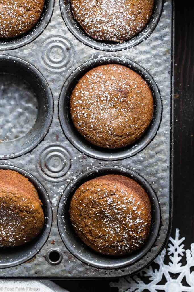 Vegan Gingerbread Muffin