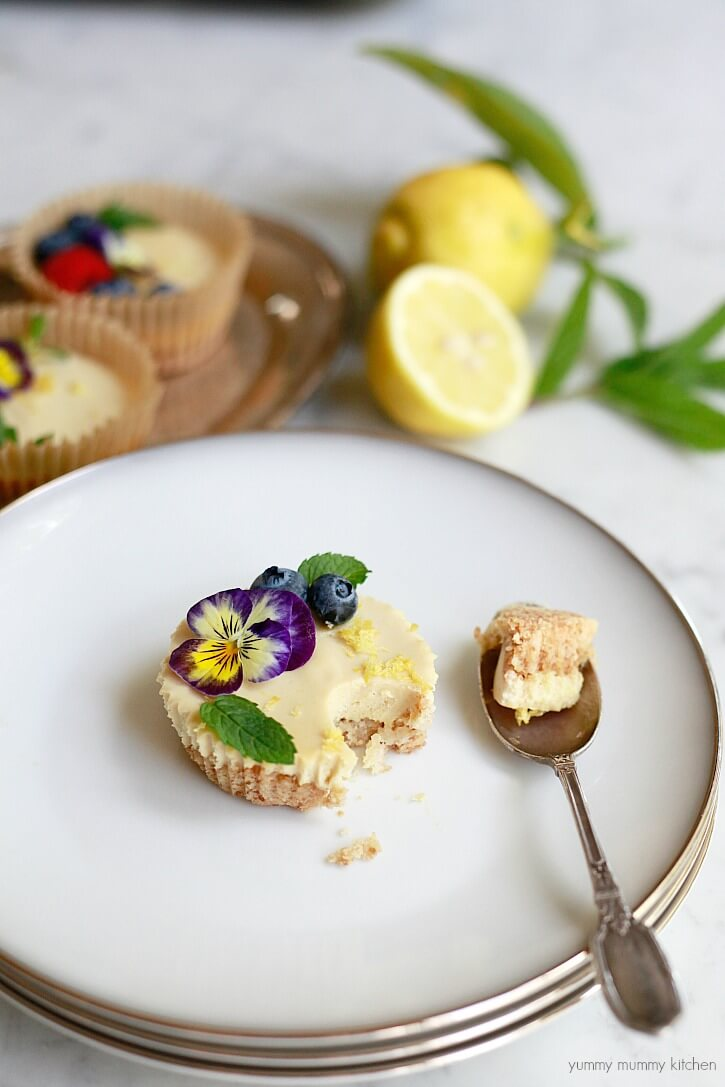 Vegan Lemon Tartlets