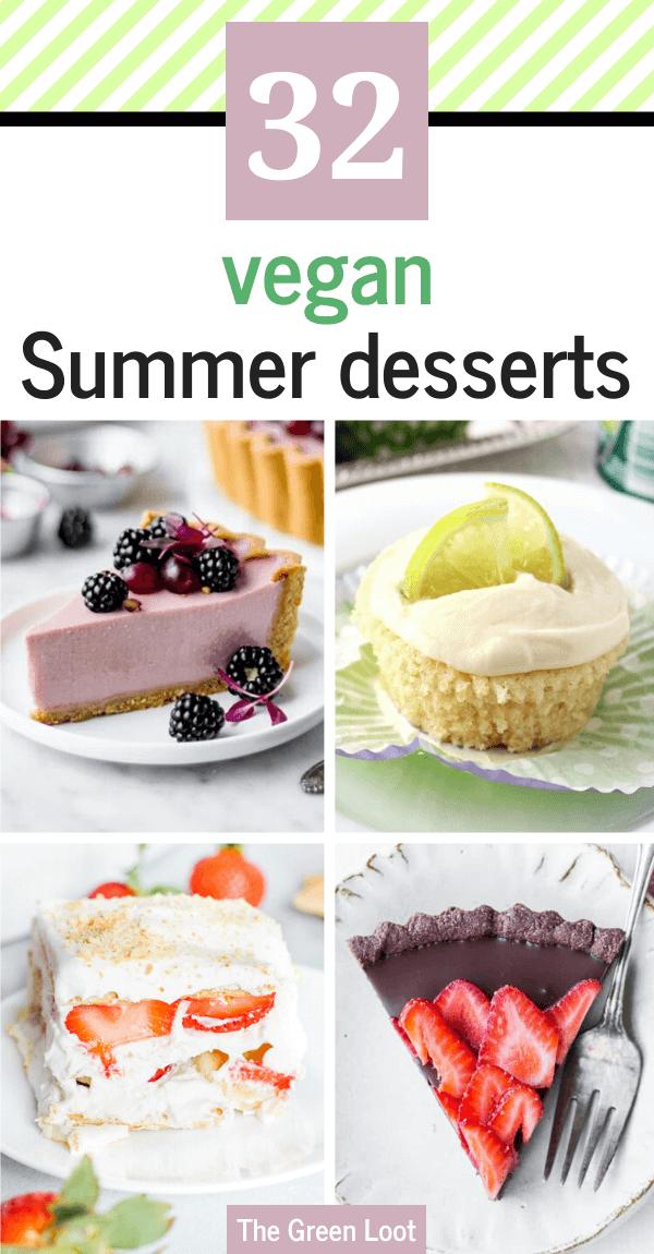32 Easy Vegan Summer Dessert Recipes Light And Fruity The Green Loot