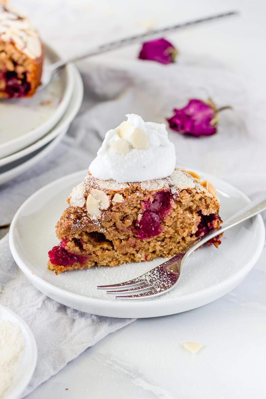 cherry amond cake
