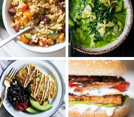 vegan summer dinner recipes