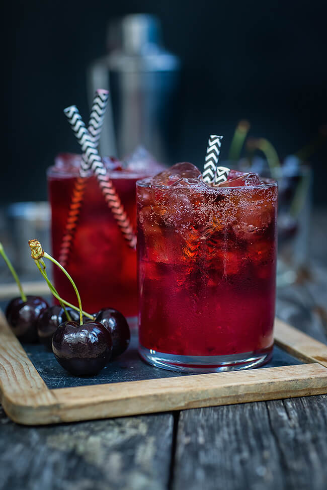 Vegan Black Cherry Bourbon Cola