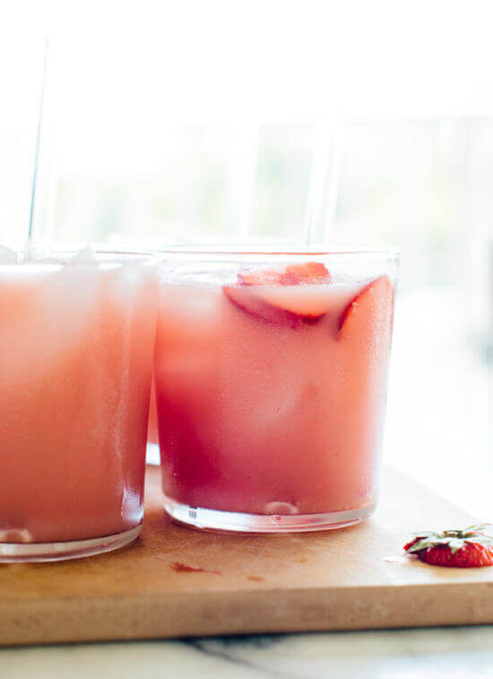 Vegan Pink Drink