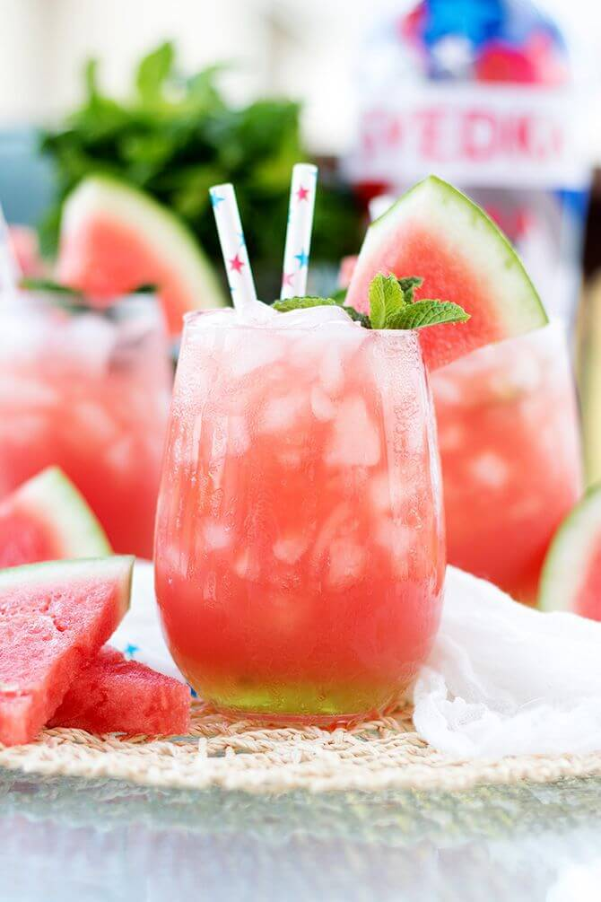 Vegan Vodka Watermelon Cooler
