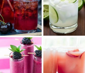 These Easy Vegan Summer Drink Recipes will make sure to cool you down even on the hottest July evening. With lots of fruit, ice cubes and sometimes booze, these vegan drinks make the best summer beverages ever. | The Green Loot #vegan