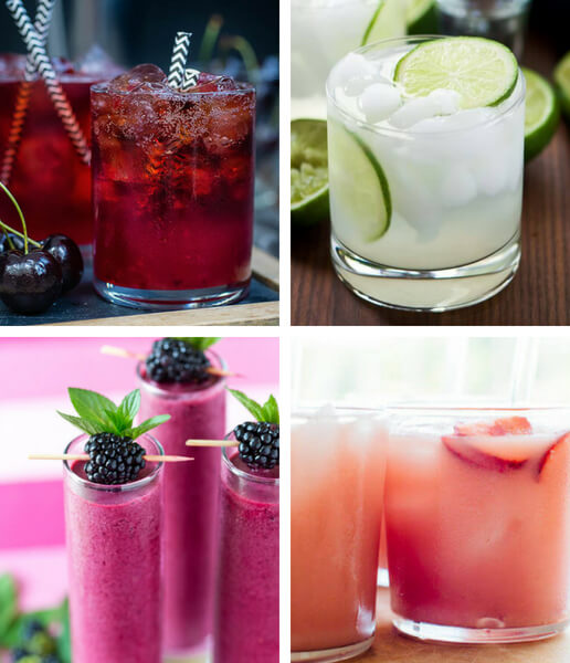 These Easy Vegan Summer Drink Recipes will make sure to cool you down even on the hottest July evening. With lots of fruit, ice cubes and sometimes booze, these vegan drinks make the best summer beverages ever. | The Green Loot #vegan #veganrecipes #Summer