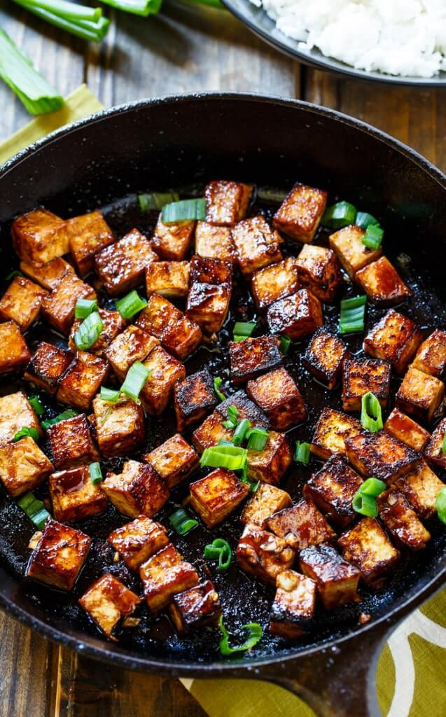 Vegan Garlic Tofu