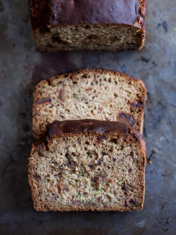 Vegan Zucchini Date Bread