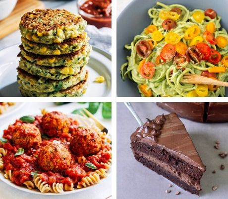 vegan zucchini recipes