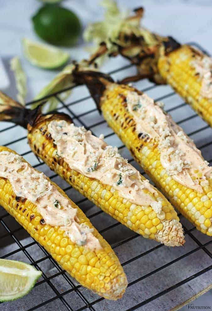 Vegan Mexican Street Corn | #vegan