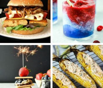 These delish Vegan 4th of July Recipes and Menu Ideas will make sure that you have the best patriotic party with the most delicious food and drink, that will impress all of your guests. | The Green Loot #vegan