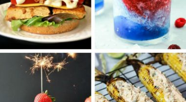 These delish Vegan 4th of July Recipes and Menu Ideas will make sure that you have the best patriotic party with the most delicious food and drink, that will impress all of your guests. | The Green Loot #vegan #veganrecipes #Summer #4thofJuly