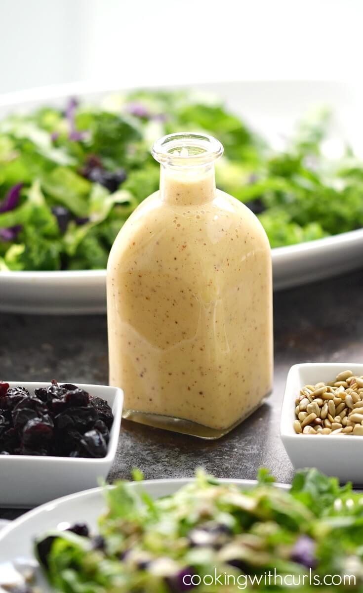 Vegan Sweet Onion and Citrus Dressing | #vegan