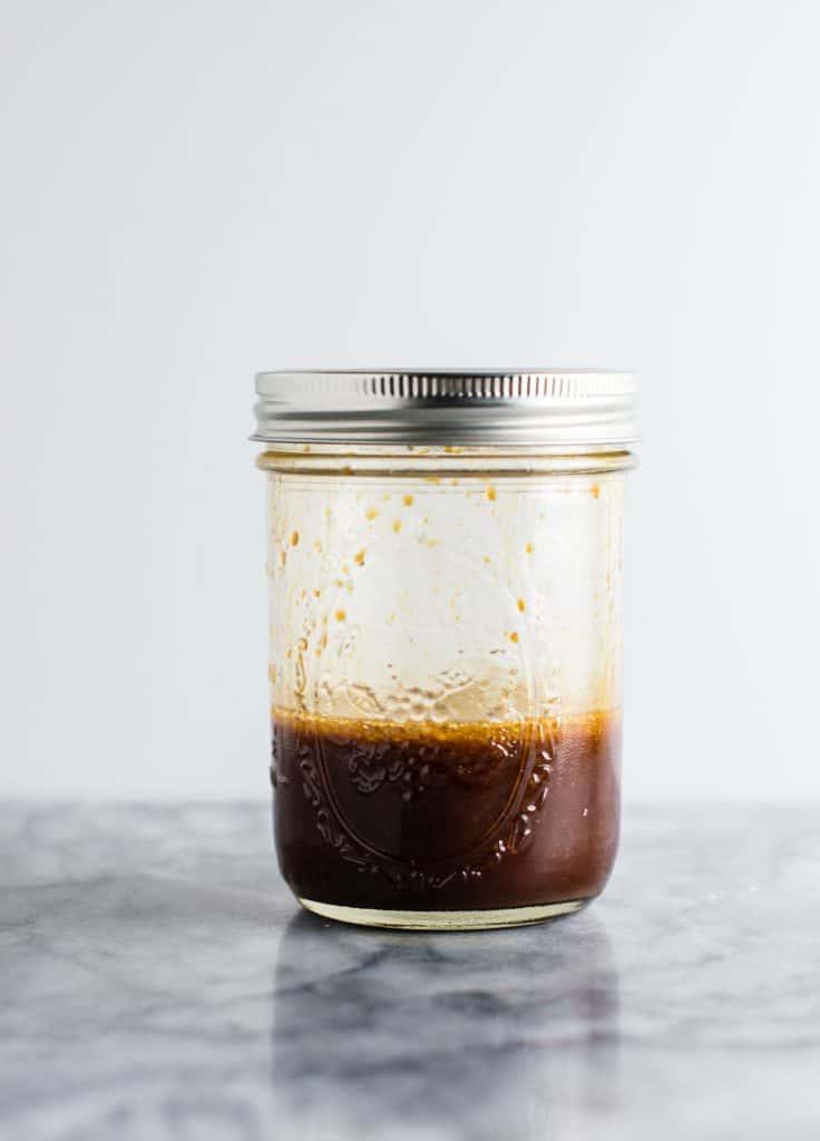 Vegan Homemade Stir Fry Sauce (3 ingredients) | #vegan