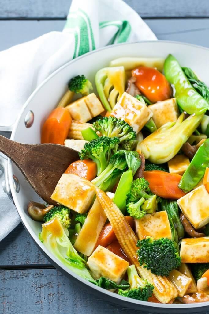 Vegan Buddha's Delight Stir Fry | #vegan