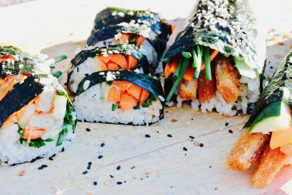 Vegan Mexican Sushi Rolls | #vegan #sushi