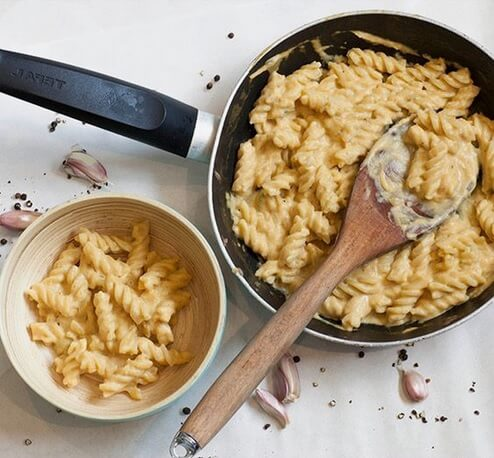 Vegan Butternut Squash Creamy Pasta Sauce | #vegan