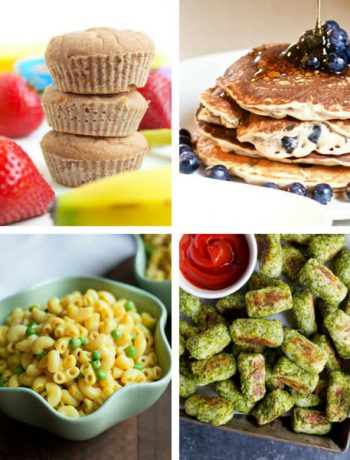 These Vegan Toddler Recipes are super healthy, refined sugar-free and children approved. Make your little ones a tasty meal or snack, filled with nutritious fruits and veggies. Even the most picky eaters will love them! | The Green Loot #vegan
