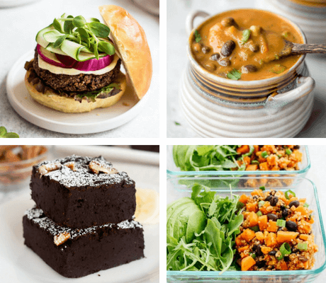 These Vegan Black Bean Recipes are healthy, delicious and are perfect to make for a meatless dish! Healthy brownies, cozy soups and filling salads that are high in protein and rich in flavors. | The Green Loot #vegan #veganrecipes #dairyfree #healthyeating