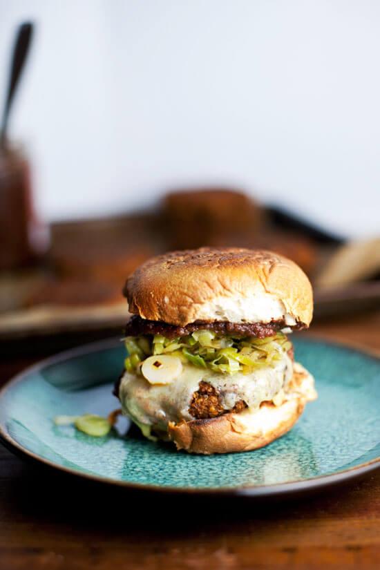 Butternut Squash Burger