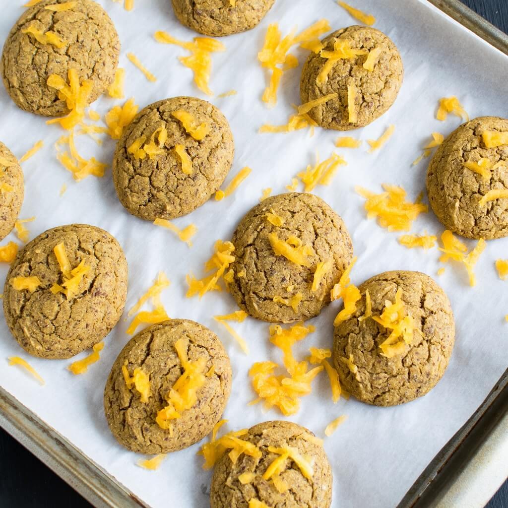 Butternut Squash Barley Cookies
