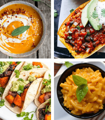 Wouldn't you agree that, the ideal Fall evening has a big bowl of delicious butternut squash in it? You can make any of these Vegan Butternut Squash Recipes and you are in for a warming, healthy and truly delicious meal. | The Green Loot #vegan #veganrecipes #butternutsquash #healthyeating #dairyfree