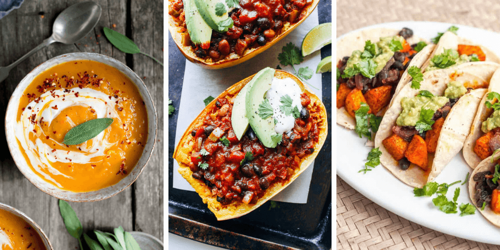 vegan butternut squash recipes