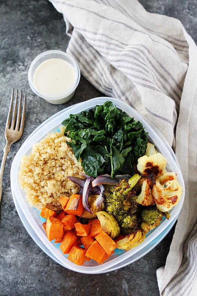 Roasted Vegetable Quinoa Bowl