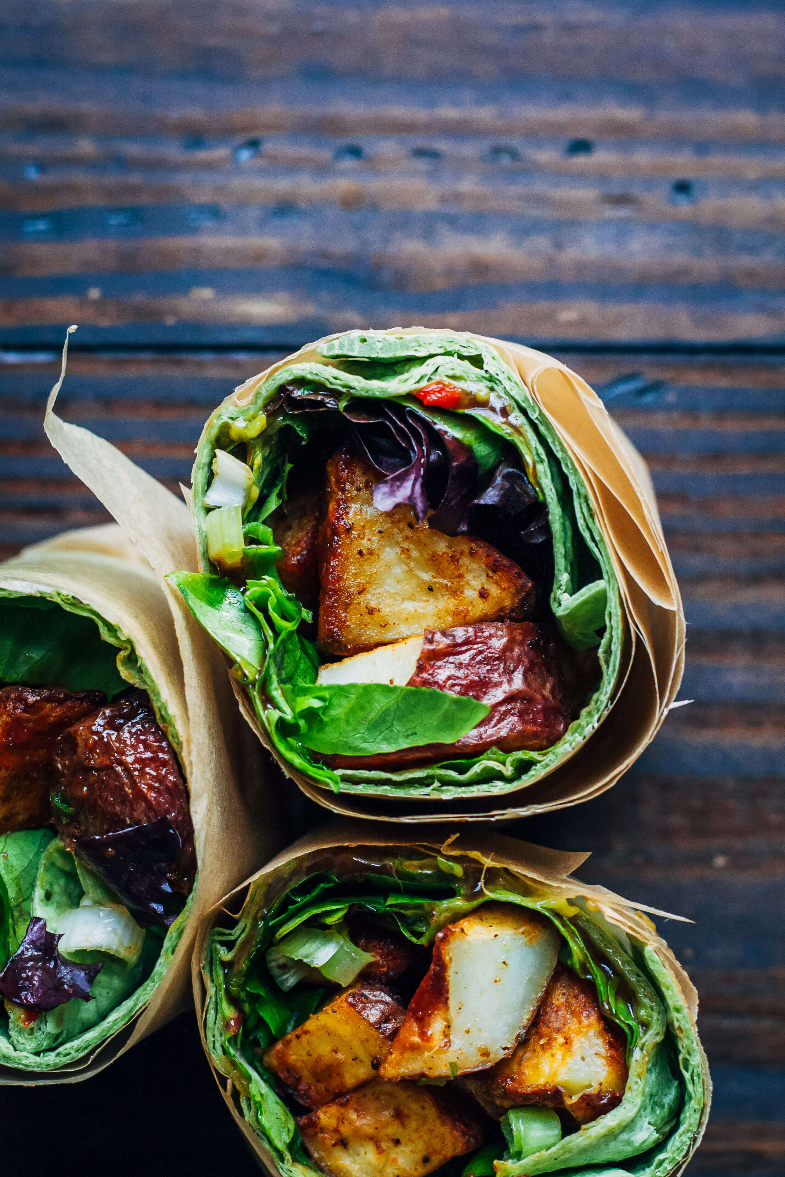 BBQ Roasted Potato Wrap