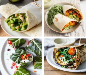 16 Healthy Vegan Wraps for Work Lunch (Easy Ideas)