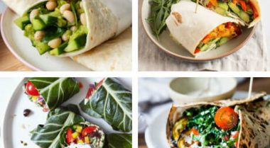 Vegan Lunch Wrap Recipes