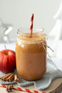Apple Cinnamon Smoothie (vegan, raw, sugar-free)