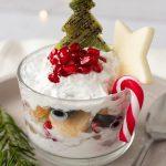 Christmas Fruit Salad Cups