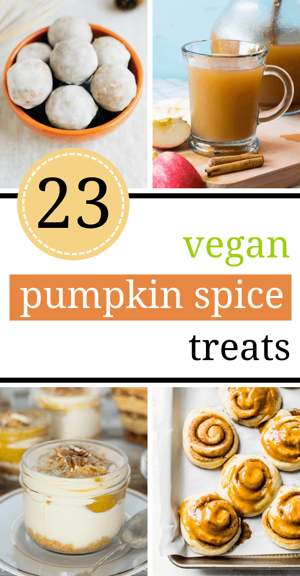 Vegan Pumpkin Spice Recipes pin