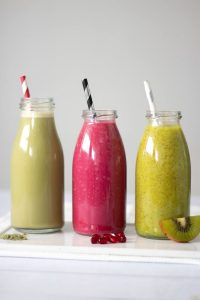 3 Tasty Detox Smoothies for Weight Loss (vegan)
