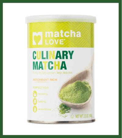 Culinary Green Tea Matcha Powder (Thrive Market) - Vegan Christmas Stocking Stuffer Ideas